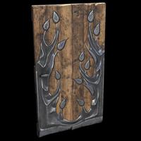 Metal Tree Door